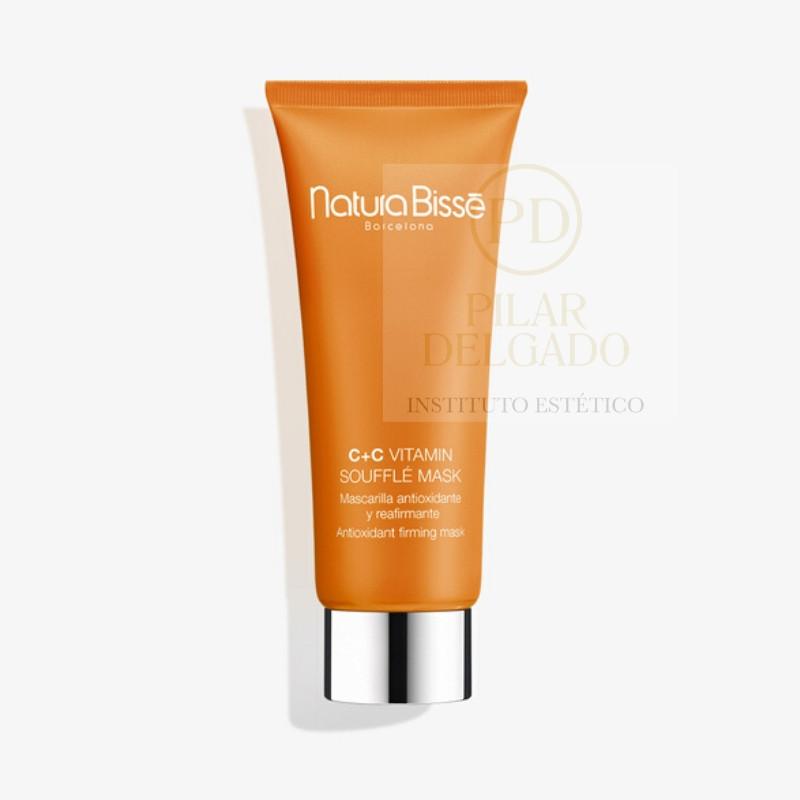 "Natura Bissé - Mascarilla reafirmante antioxidante ""C + C Vitamin Soufflé Mask"""