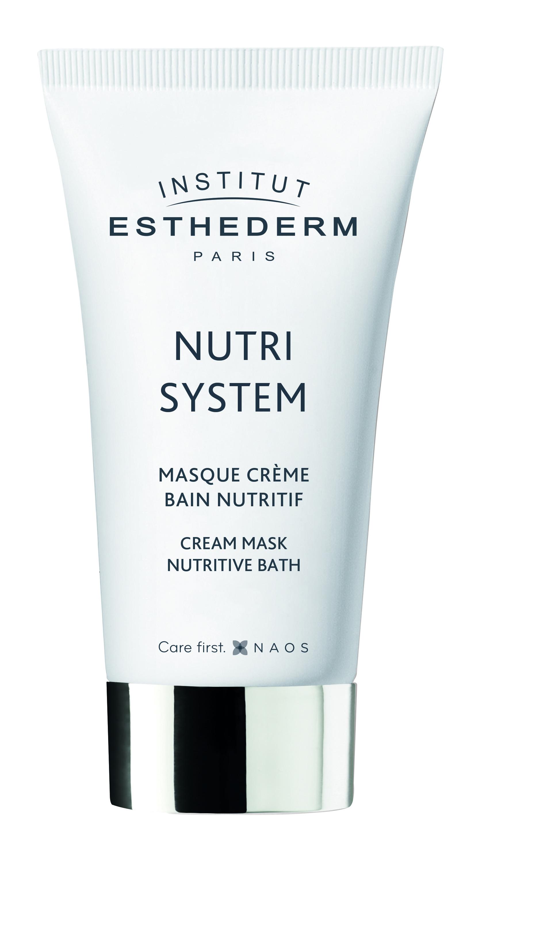 "Mascarilla crema baño nutritiva pieles desnutridas ""Nutri System""- Institut Esthederm"