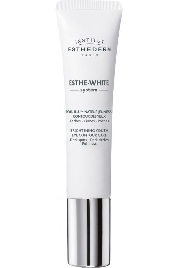 Institut Esthederm- Esthe White contorno de ojos aclarador reparador