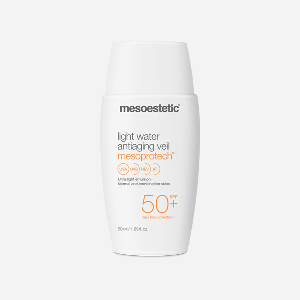 Mesoestetic - Protector solar light water antiaging veil