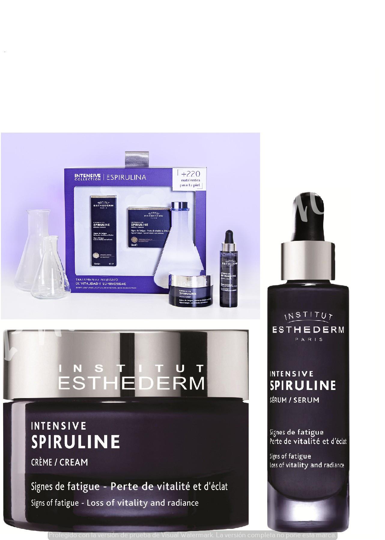 Pack Intensivo Espirulina - Institut Esthederm